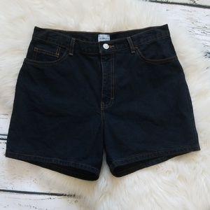 Calvin Klein Jeans High Rise Black Jean Sh…
